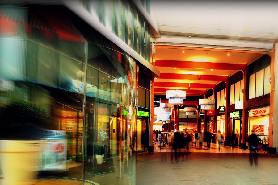 WiFi en centro comercial