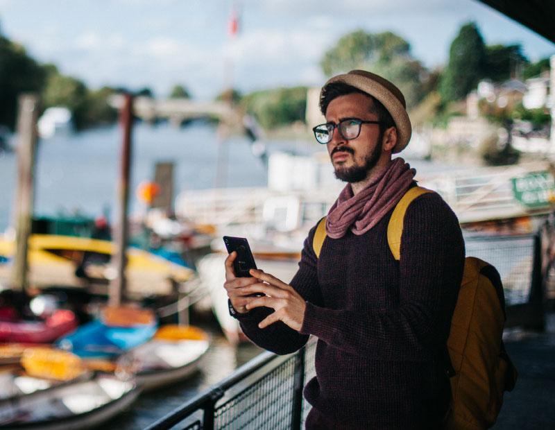 haciendo turismo con tecnología