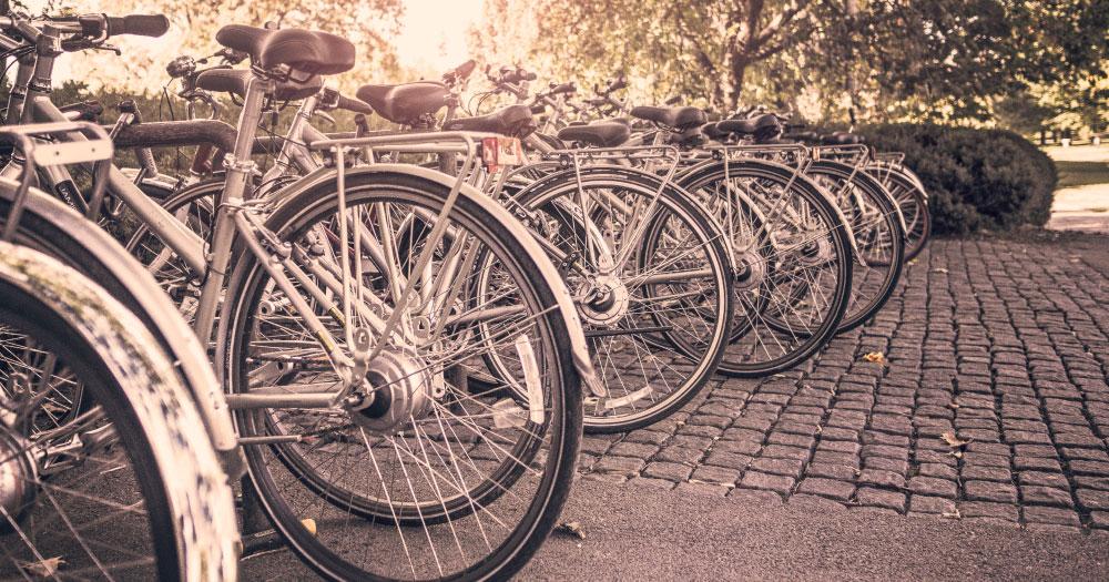 Compartir bicicleta