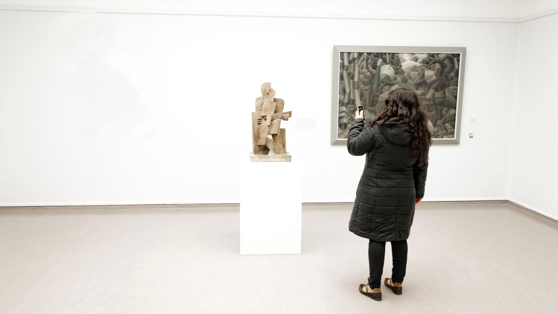 tecnología en el museo