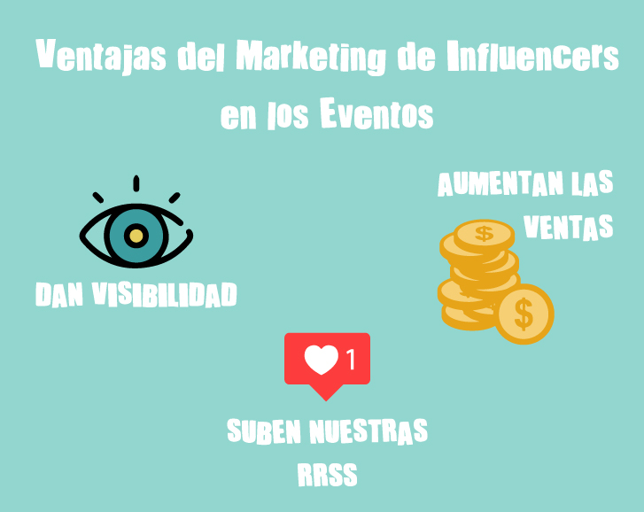 ventajas del marketing de influencers en los eventos