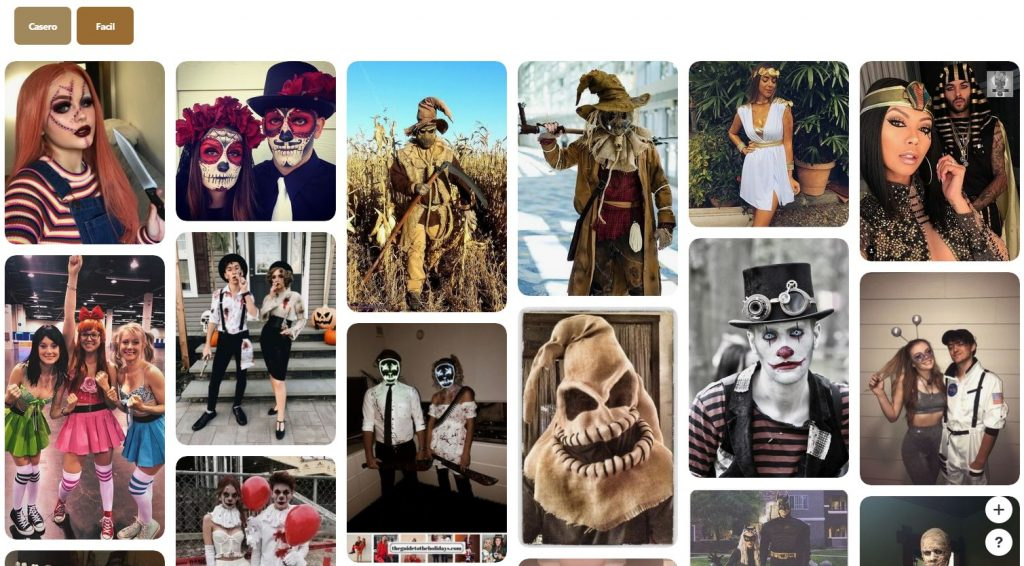 disfraces hallowwen pinterest