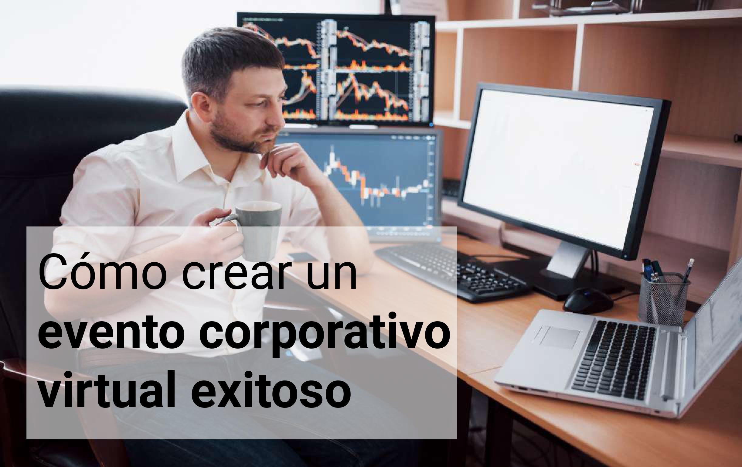 evento corporativo virtual